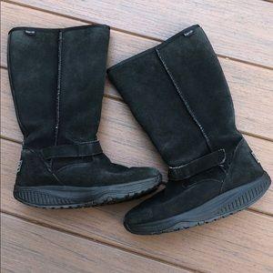 Skechers Black Women's Shape Up Boots
